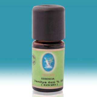 Nuka Organik Vanilya Özü (Ekstrakt) Yağı  %25  - 5ml