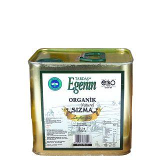 Tardaş Egenin Organik  Sızma Zeytin Yağı (Soğuk Sıkım)  2 Lt (2019 yeni hasat)