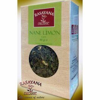 Rasayana  Organik  Nane Limon Çayı 80 Gr.