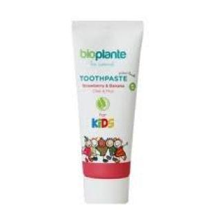 Bioplante Organik Florürsüz Yutulabilir Çocuk Diş Macunu 75 ml - Tutti Frutti