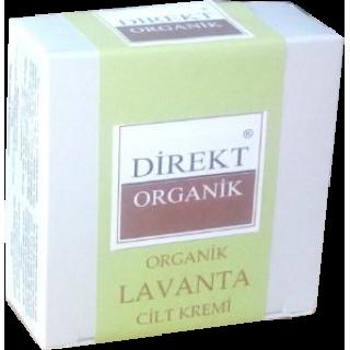 Lavanta Çiçeği Kremi (Yağlı Cilt) 50ml- Direkt