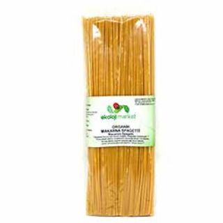 Ekoloji Market Organik Makarna  Spagetti (Sade)  350g
