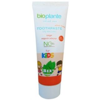 Bioplante Florürsüz B12 Vitaminli Çocuk Diş Macunu  75ml
