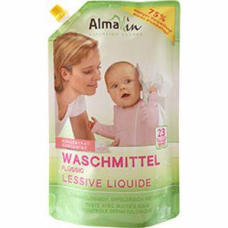 AlmaWin Organik Çamaşır Yıkama Sıvısı (Renkli+Beyaz, Makine & Elde) 1,5L