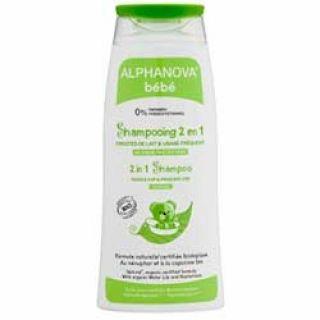 Alphanova Organik 2'si 1 Arada Bebek Şampuanı (Sık Kullanım & Konak Problemi) 200ml