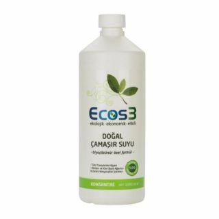 Ecos3 Ekolojik Doğal Çamaşır Suyu 1LT