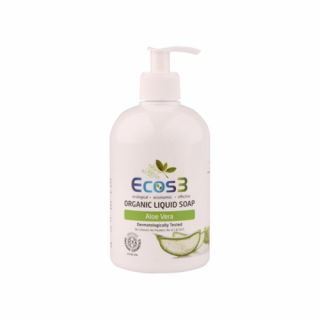 Ecos3 Organik Sıvı Sabun (Aloevera) 500 ml.