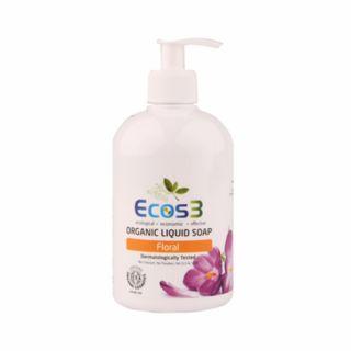 Ecos3 Organik Sıvı Sabun Floral 500ml