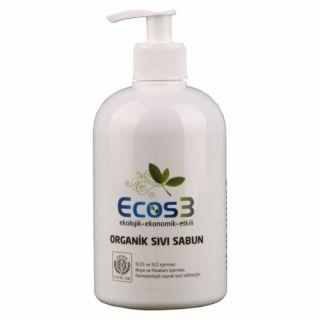 Ecos3 Organik Sıvı Sabun Beyaz Manolya (500ml)