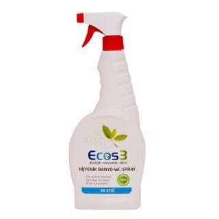 ECOS3 Organik Hijyenik Banyo-WC Sprey 750 ml