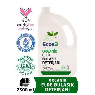 Ecos3 Organik Elde Bulaşık Deterjanı  2500 Ml