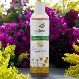 Apifarm Organik Sarımsaklı ve Propolisli Şampuan 250ml