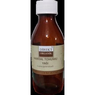 Hardal Tohumu Yağı (Soğuk Press)  30 cc Direkt Organik