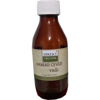 Organik Hawaii Cevizi Yağı (Macadamia) 30 cc Direkt Organik